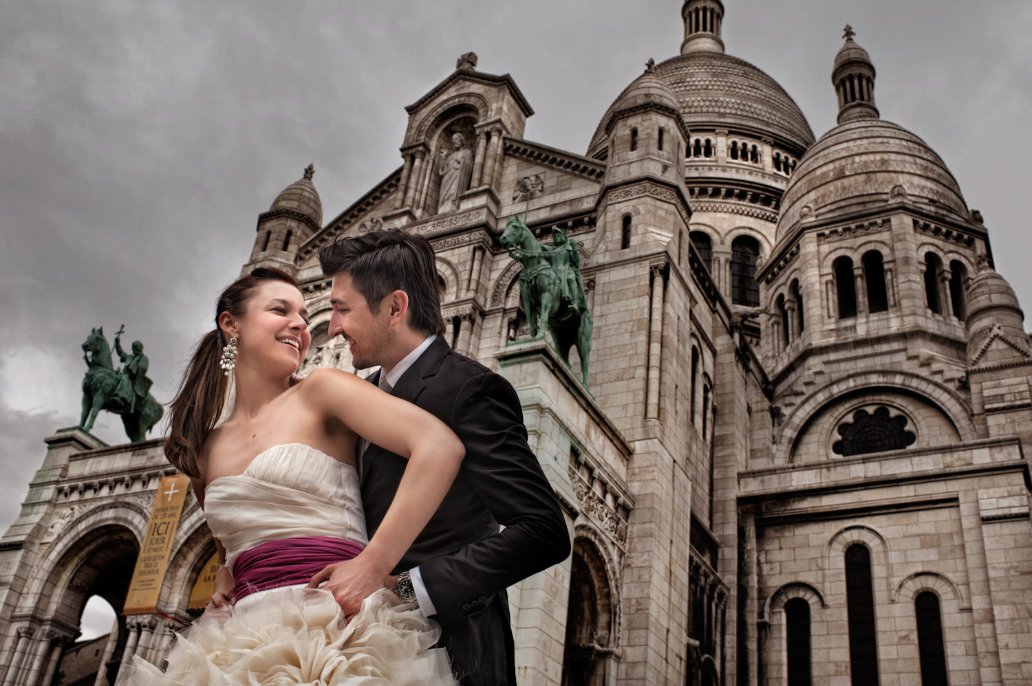 Lidija and Denis wedding photoshooting in Paris 4