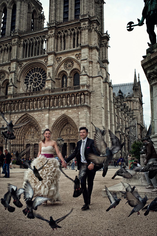 Lidija and Denis wedding photoshooting in Paris 17