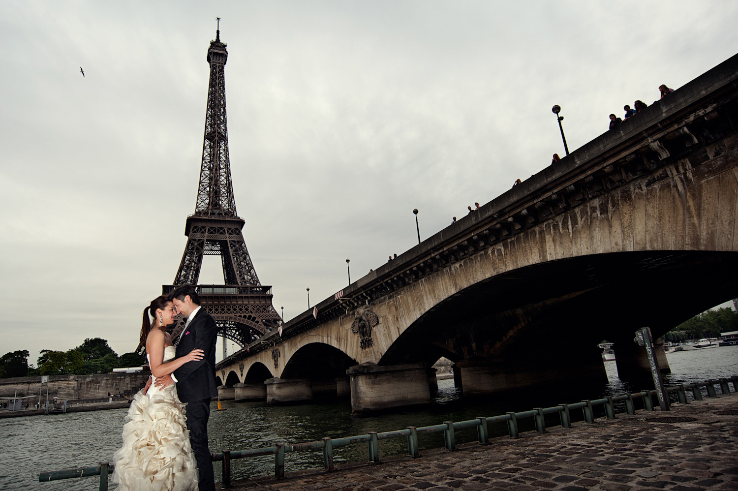 Lidija and Denis wedding photoshooting in Paris 23