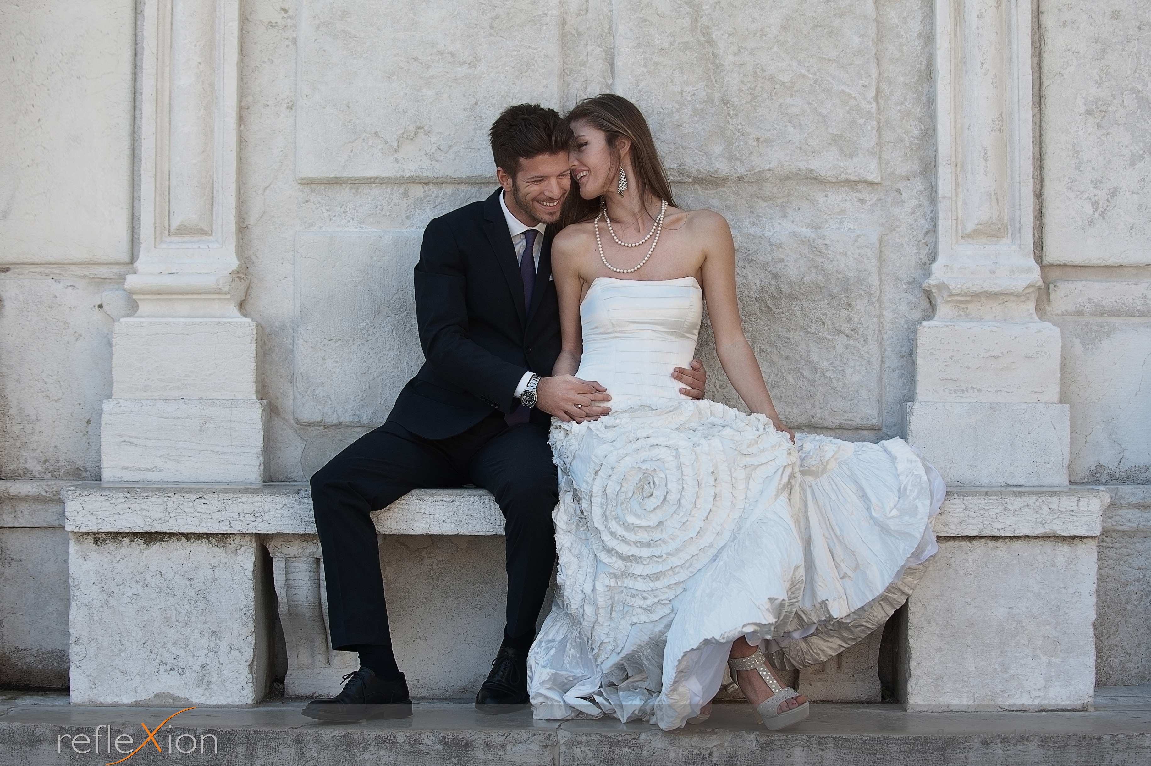 Locations for wedding photography in Venice - Campo Manin square 3