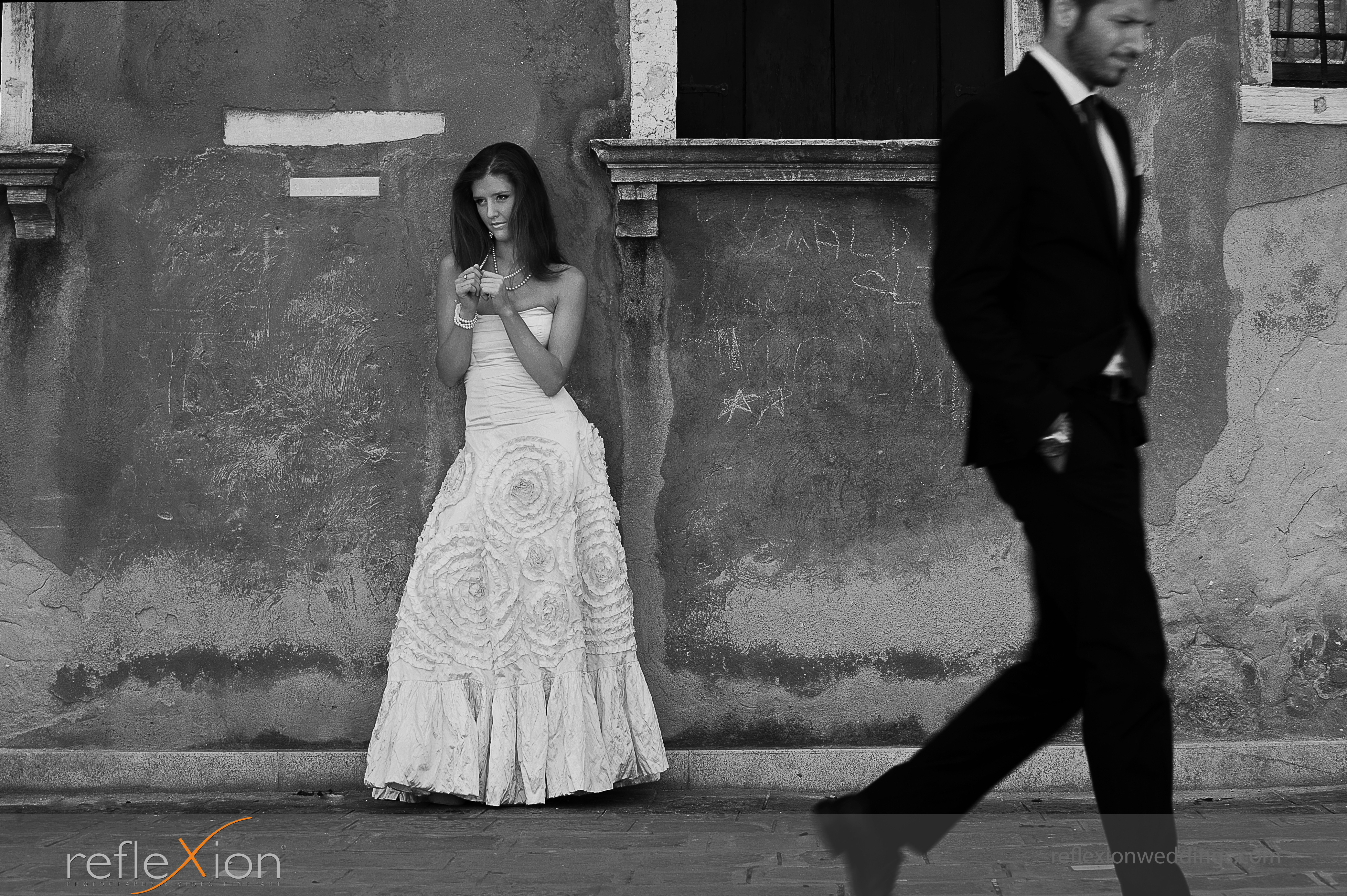 Locations for wedding photography in Venice - Campo Manin square 2