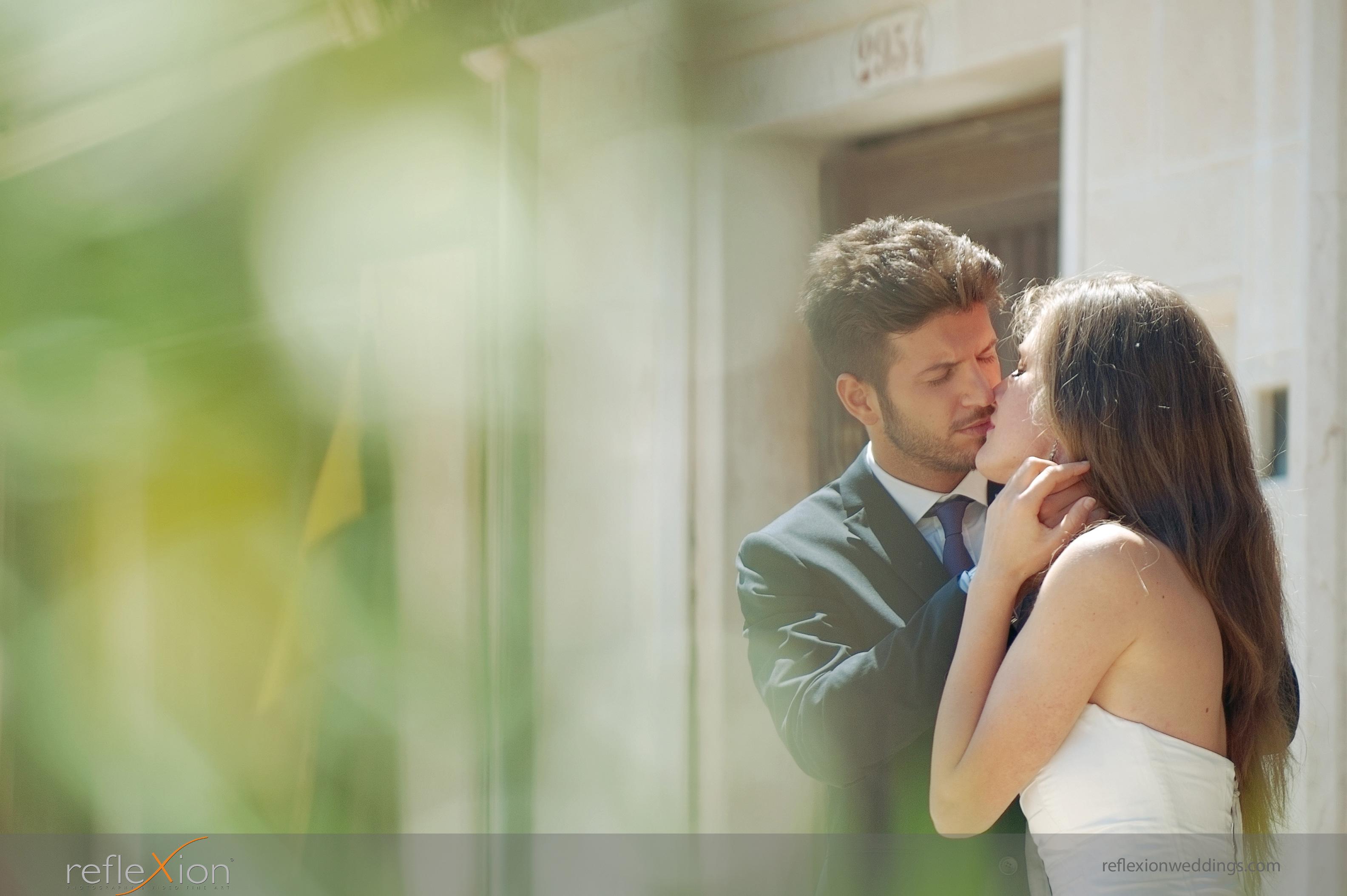 Locations for wedding photography in Venice - pontoone bridge 2