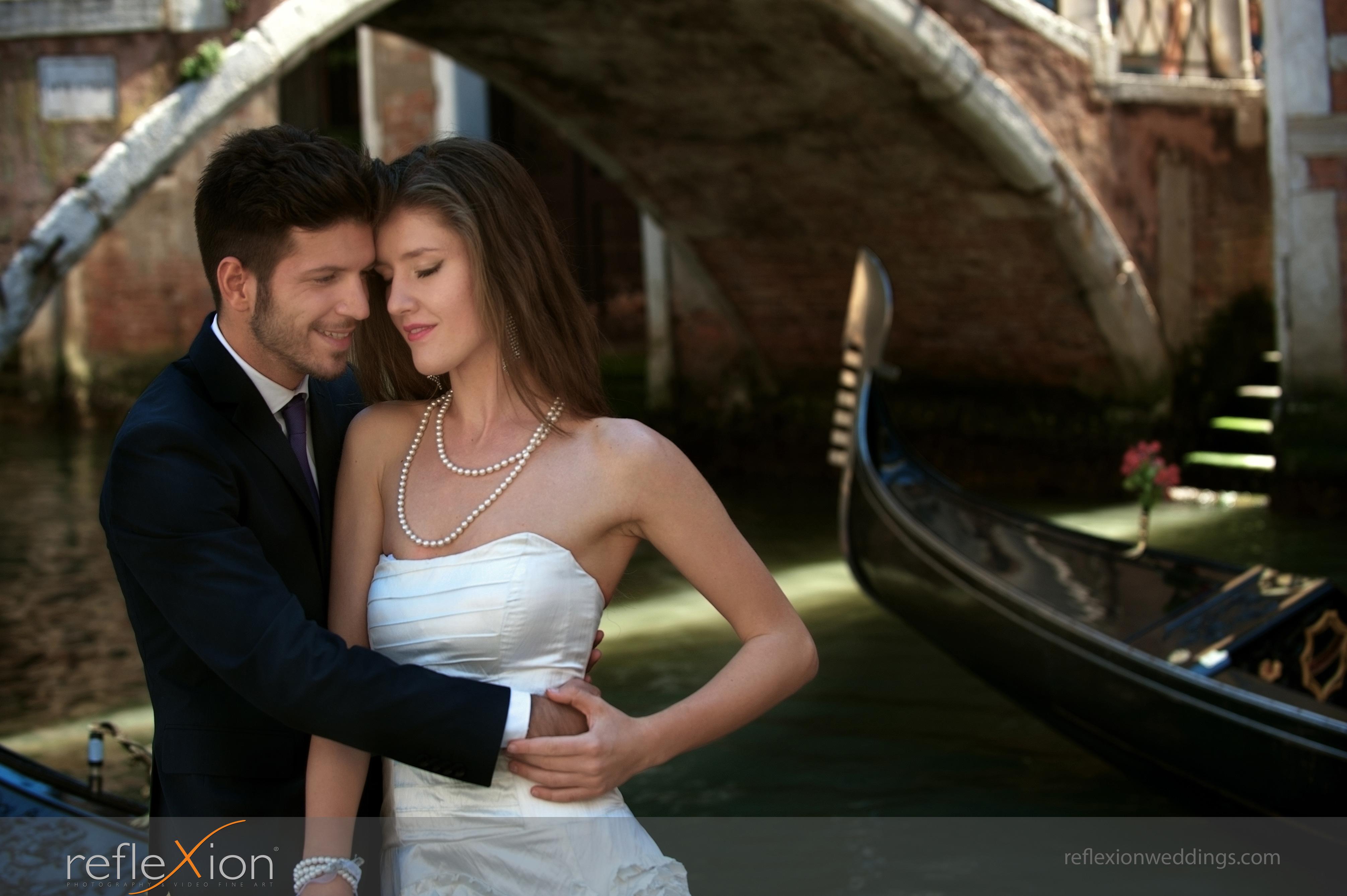 Locations for wedding photography in Venice - Campiello Morosini