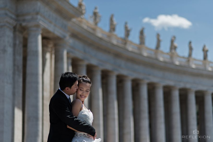 Loraine and Victor's Wedding in Rome 1