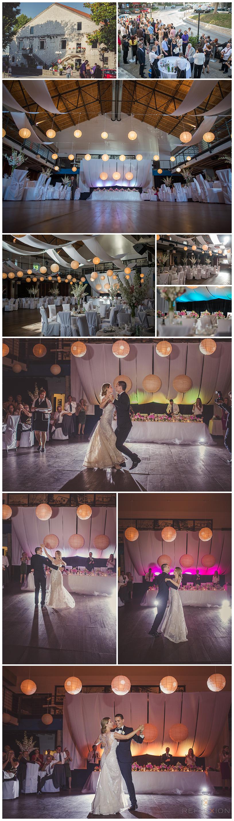 Wedding Reception in Arsenal Club Zadar Croatia