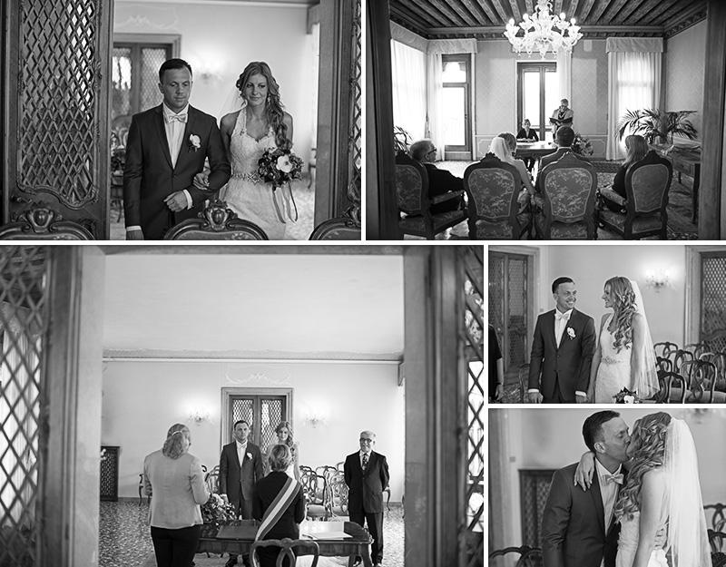 ceremony at palazzo cavalli venice