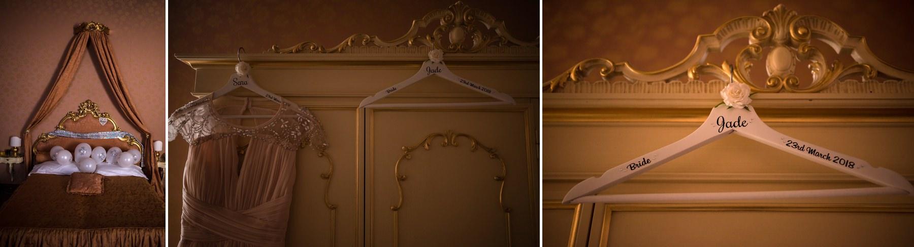 Palazzo Cavalli Venice bride details in room